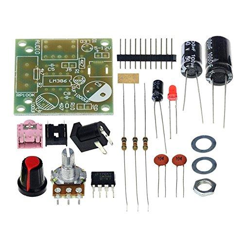 ZHUOTOP 3,5 mm 3 - 12 V Mini amplificador de alimentación de audio placa con kit de bricolaje