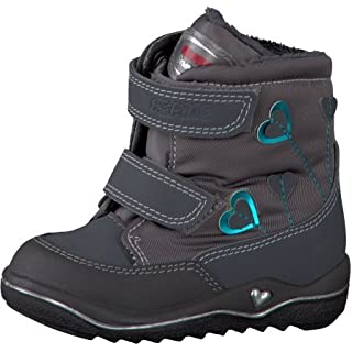 Ricosta SympaTex 38.22700 Girls antra/patina Leather Boots, 6 Child UK