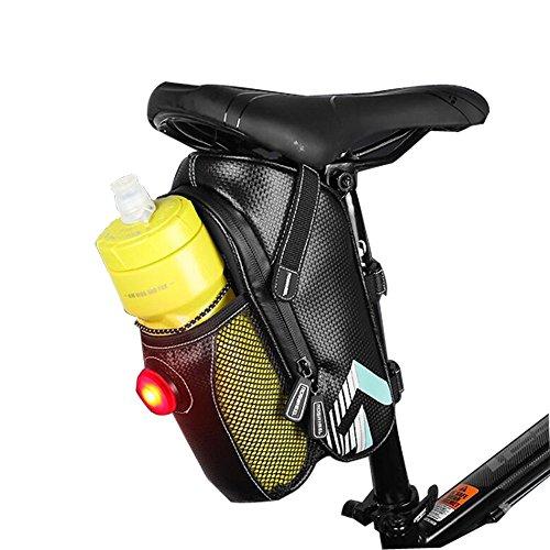 Bike Sitz Sattel Wedge Pack Tasche, yicol Mountain Road MTB Fahrrad Pack Aufbewahrung Paar Satteltasche mit für Rücklicht Repair Tools, Handy, Schlüssel und andere Dinge himmelblau