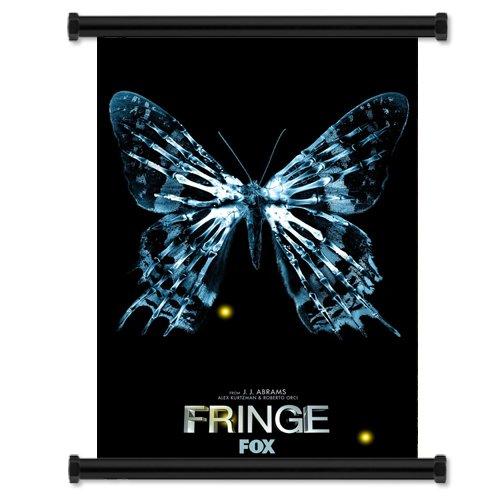 Fringe TV Show Fabric Wall Scroll Poster (40.64 cm x 58.42 cm))