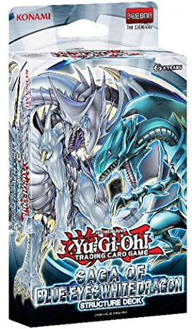 Version Anglaise - Deck Yugioh Saga Du Dragon Blanc Aux