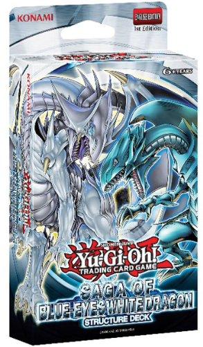 Yu-Gi-Oh! Saga of Blue Eyes White Dragon Structure Deck Englisch