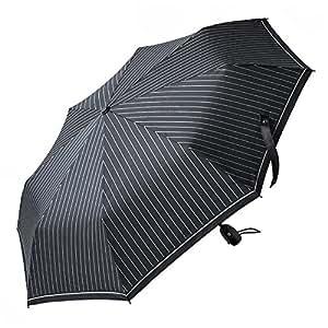 Ombrello automatico FREETOO Nero-Ombrello da viaggio pieghevole con apertura e chiusura automatica per uomo e donna antivento