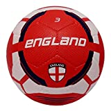#4: Vector X England Rubber Moulded Football, (White/Maroon)
