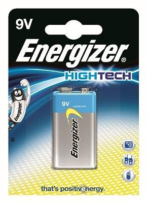 Energizer Original Batterie Hightech E-Block (9 Volt, 1-er Pack)
