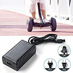 merymall Scooter Ladegeräte -Akku Ladegerät Netzteil 24V für E-Bike/Elektrofahrrad für Xiaomi(EU Plug)