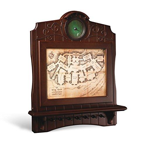 Noble Collection nn2435 - Le Seigneur des Anneaux Porte-clés Mural Carte de Maison Baggins