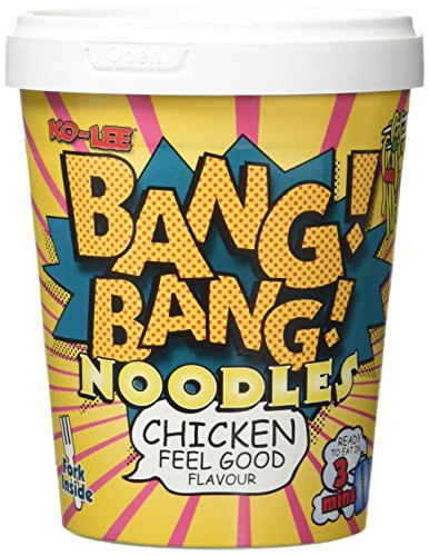 KOLEE BangBang Noodles Chicken Feel Good Flavour 65 g (Pack of 8)
