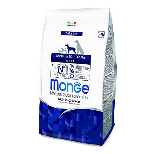 Monge - Natural Superpremium Medium Adult 3 kilogramm