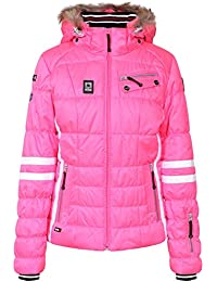 ICEPEAK W Damen Funktionsjacke Caia Jacke, Colour: Light Pink (614), Size: 42