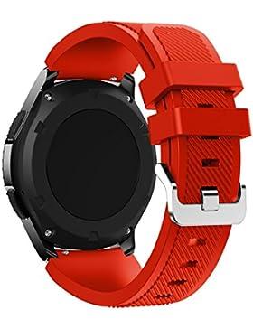 Sunnywill Art- und Weisesport-Silikon-Armband-Bügel-Band für Samsung-Zahnrad S3 Frontier(Nur Uhrenarmbänder,Enthält...