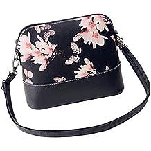 Borsa Familizo Elegant Le donne di stampa della borsa a tracolla in pelle Bauletto Messenger