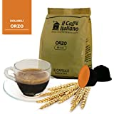 96 cápsulas de café compatibles Nescafé Dolce Gusto - Cebada - Cápsulas compatible con maquinas Nescafé Dolce Gusto - (Paquete de 6x16 por un total de 96 Capsules) Il Caffè italiano.