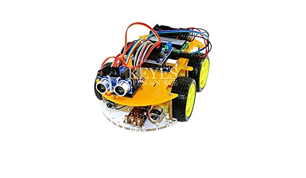 Multi-function Robot Car Kit Bluetooth Chassis Suit Tracking Compatible Uno R3 Diy Rc Electronic Toy Robot With Lcd1602 Integrated Circuits Electronic Components & Supplies