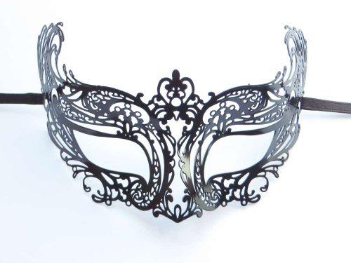 Danzetta - Metall Maske Filigran Venezianischer Stil (Metall Filigran Maske)