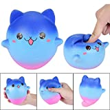 Solike Squishy Spielzeug,Kawaii Creme duftenden Squishy Charms Stress Relief Spielzeug Anti-Stress Ball Druck Squeeze Toys