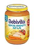 Bebivita Gemüse-Spaghetti mit Pute, 1er Pack (1 x 190 g)