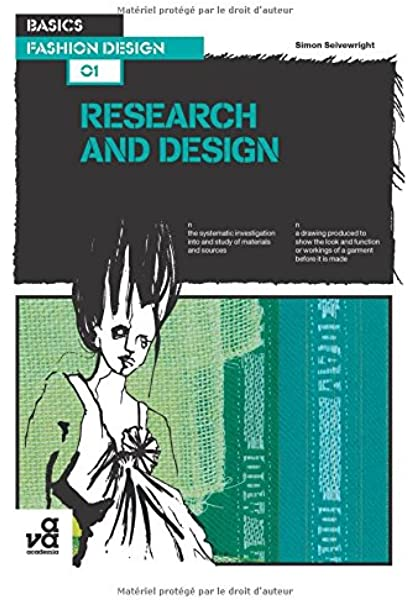 Basics Fashion Design Research And Design Amazon Co Uk Simon Seivewright 9782940373413 Books