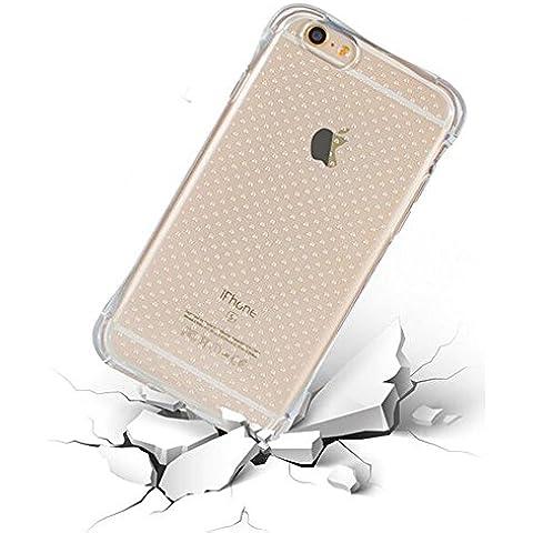 Sauve iPhone 6 Plus /6S Plus de [5.5] -[Extremadamente Delgada Transparente Funda] Ultra Fina Fit Slim Sencillo Carcasa Gel TPUCase Cover Parachoques Flexible Protección de la Gota Anti Rasguño Alta Calidad Soft Shell de Accesorios del Teléfono