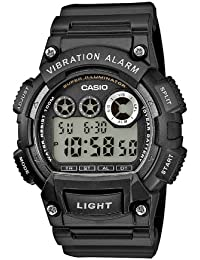 Casio Collection Herrenuhr Digital mit Resinarmband – W-735H-1AVEF