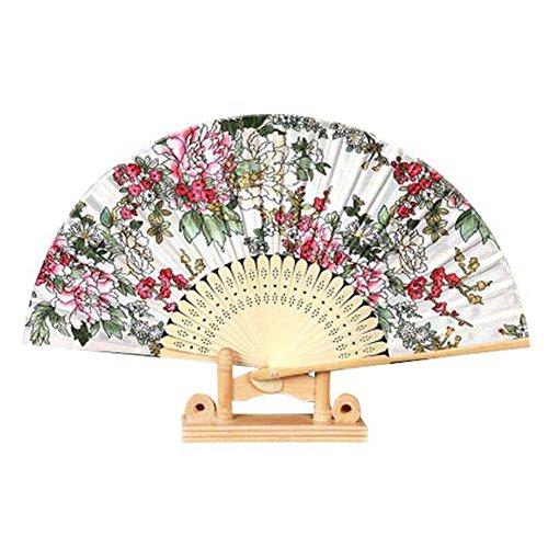 Großer faltender Ventilator Handgemachter Handgebläse für Hochzeitsgeschenk Schöner Handfächer