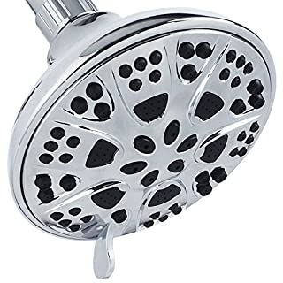 AquaDance Premium High Pressure 6-setting 5-Inch Shower Head for the Ultimate Shower Spa Experience! Officially Independently Tested to Meet Strict US Quality & Performance Standards! by AquaDance?