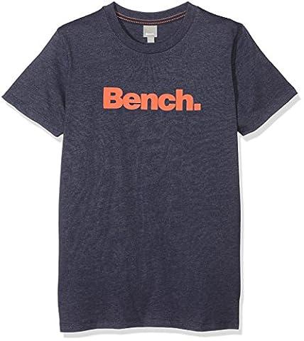 Bench Jungen T-Shirt Core Tee Blau (Dark Navy Blue Ny031), 176 (Herstellergröße: 15-16)