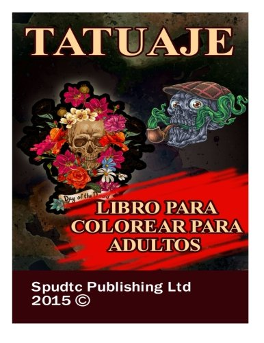 Tatuaje: Libro para colorear para adultos