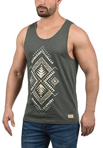 !Solid Isaak Herren Tank Top Mit Rundhalsausschnitt Aus 100% Baumwolle Regular Fit, Größe:S, Farbe:Dark Grey (2890) - Fahrt Ärmelloses T-shirt