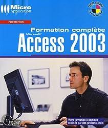 Access 2003 : Formation complète (1Cédérom)