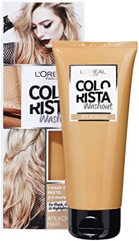 Coloration Pastel Colorista Washout Couleur 1 Semaine - Coloration Pastel #Peach Hair