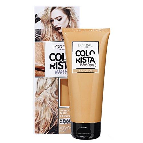 L'Oréal Paris Colorista Washout 1 Semaine Couleur Temporaire pour Cheveux Pêche