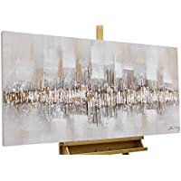 KunstLoft® Acryl Gemälde U0027City Outlineu0027 120x60cm | Original Handgemalte  Leinwand Bilder XXL |