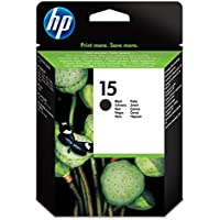 Hp Hewlett Packard Ink Inkjet Black Print Printer Fax Printer Copier Cartridge No 15 ( 15D C6615D C6615De ) preiswert