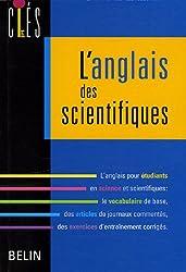 L'anglais des scientifiques
