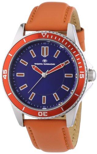 Tom Tailor - 5412503 - Montre Homme - Quartz Analogique - Bracelet Cuir Orange