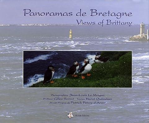 Le Moigne Jean Louis - Panoramas de Bretagne : Edition bilingue