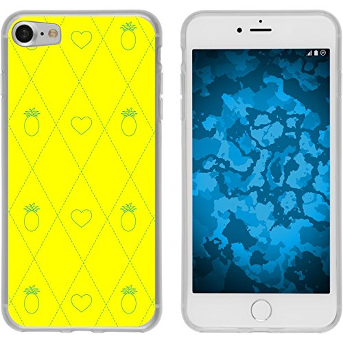PhoneNatic Apple iPhone 8 Custodia in Silicone estate M5 Case iPhone 8 + pellicola protettiva Motivo:01