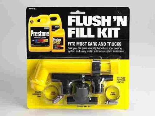 Prestone AFKIT 0 Prestone Universal Spülen und Füllen Kit -