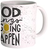 Posterboy 'Good Things Are Going To Happen' Ceramic Mug (350ml)
