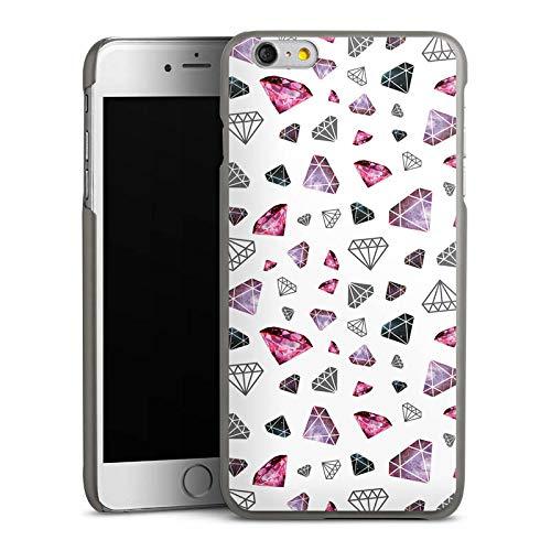 DeinDesign Hülle kompatibel mit Apple iPhone 6 Plus Handyhülle Case Diamonds Diamanten Juwelen