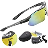 Duco POLARIZED Sports Sunglasses Cycling Glasses Exchangeable 5 Lens UV400 SP0868