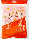 JZK 100 x künstliche blau Handwerk Gerbera Daisy Gänseblümchen Stoff Blumen Köpfe, Hochzeit Party Tisch Scatters Konfetti, DIY Scrapbook Zubehör, Einladung Karte Dekoration (rosa) - 4