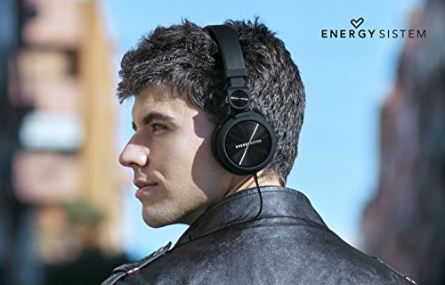 Energy Sistem DJ2 Headphones with Mic (Black)