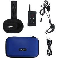 VNETPHONE® 2 x FBIM Inalámbrica Bluetooth Intercomunicador para Comunicación de Grupo de árbitros de Fútbol