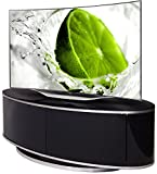 Best 50 Inch Tvs - LUNA High Gloss Black Oval TV Cabinet Review