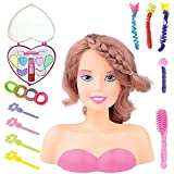 Liberty Imports Princess Styling Head Doll Playset with Beauty and Fashion Accessories