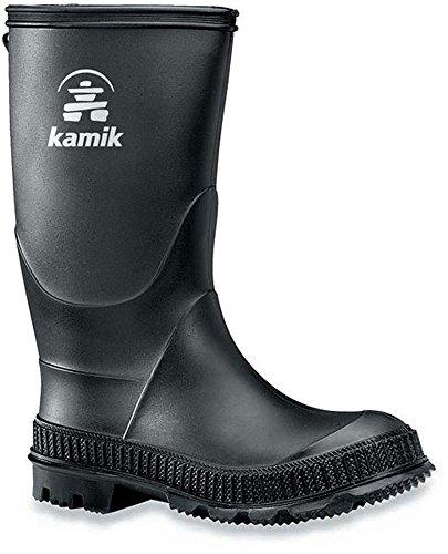 Kamik Stomp EK-   Unisex-Kinder Gummistiefel Black