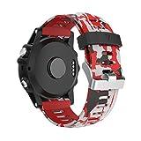 Garmin Fenix 3 / Fenix 5x Sport Watch Armband,Yayuu Silikon Sportarmband Uhr Band Strap Ersatzarmband Uhrenarmband mit Werkzeug für Garmin Fenix 3 / Fenix 3 HR GPS Smart Watch