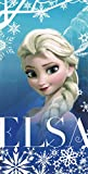 Kuschelhandtuch aus weicher Microfaser, Disney Frozen Die Eiskönigin